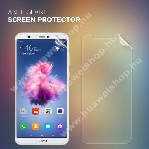 HUAWEI Enjoy 7SNILLKIN képernyővédő fólia - Anti Glare - 1db, törlőkendővel - HUAWEI P Smart / HUAWEI Enjoy 7S - GYÁRI
