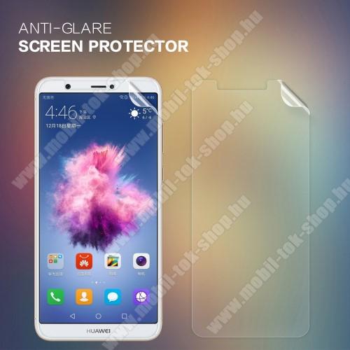 NILLKIN képernyővédő fólia - Anti Glare - 1db, törlőkendővel - HUAWEI P Smart / HUAWEI Enjoy 7S - GYÁRI