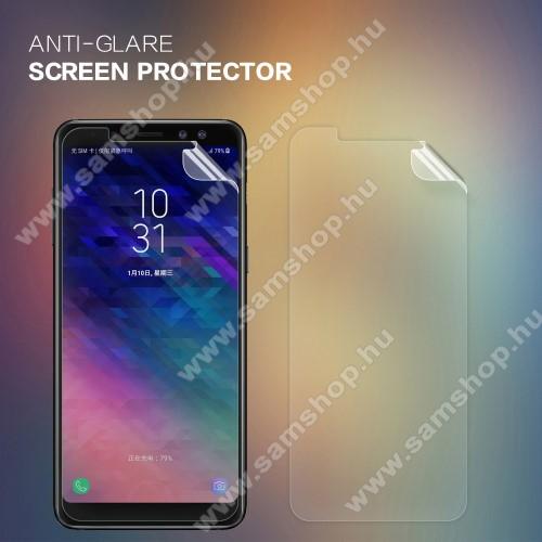SAMSUNG SM-A530F Galaxy A8 (2018) NILLKIN képernyővédő fólia - Anti Glare - 1db, törlőkendővel - SAMSUNG Galaxy A8 (2018) - GYÁRI