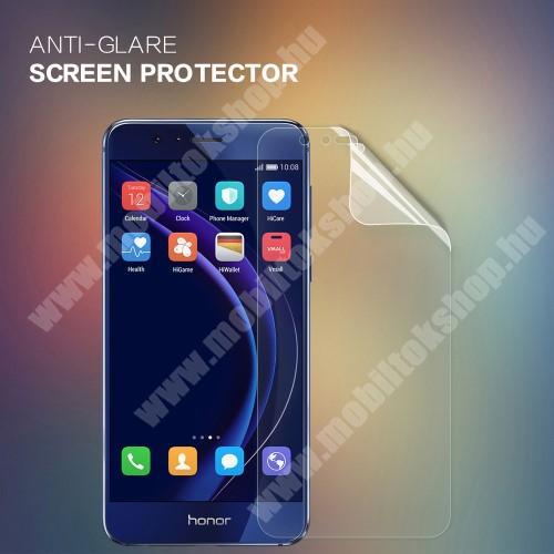 NILLKIN képernyővédő fólia - Anti Glare - 1db, törlőkendővel - HUAWEI Honor 8 / HUAWEI Honor 8 Premium - GYÁRI