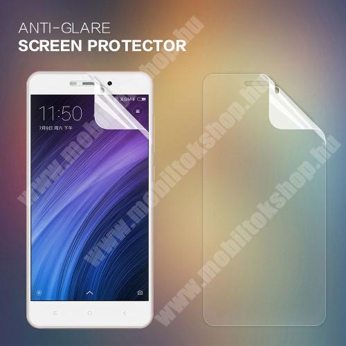 NILLKIN képernyővédő fólia - Anti Glare - 1db, törlőkendővel - Xiaomi Redmi 4A - GYÁRI