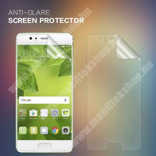 NILLKIN képernyővédő fólia - Anti Glare - 1db, törlőkendővel - HUAWEI P10 Plus - GYÁRI