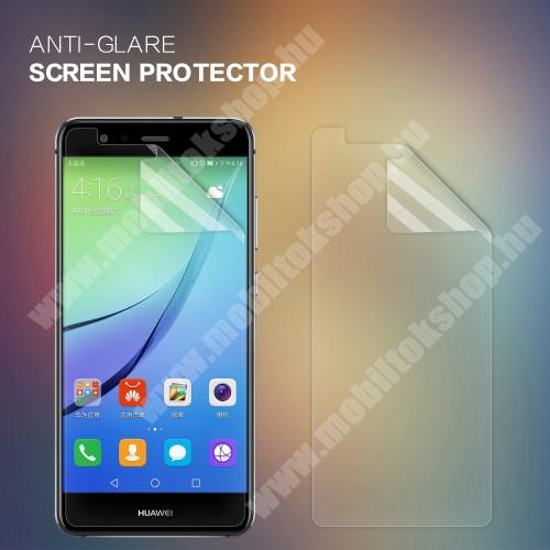 NILLKIN képernyővédő fólia - Anti Glare - 1db, törlőkendővel - HUAWEI P10 Lite - GYÁRI