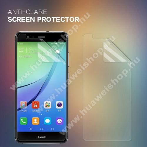 HUAWEI P10 LiteNILLKIN képernyővédő fólia - Anti Glare - 1db, törlőkendővel - HUAWEI P10 Lite - GYÁRI