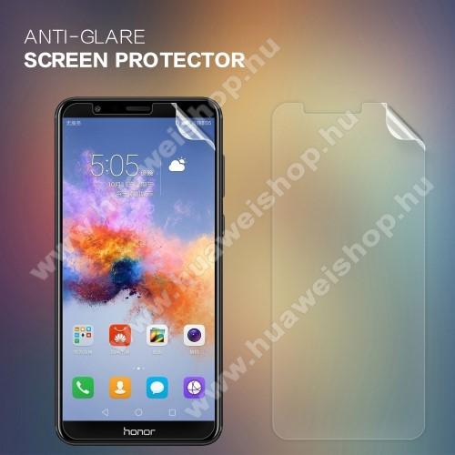 NILLKIN képernyővédő fólia - Anti-glare - MATT! - 1db, törlőkendővel - HUAWEI Honor 7X - GYÁRI
