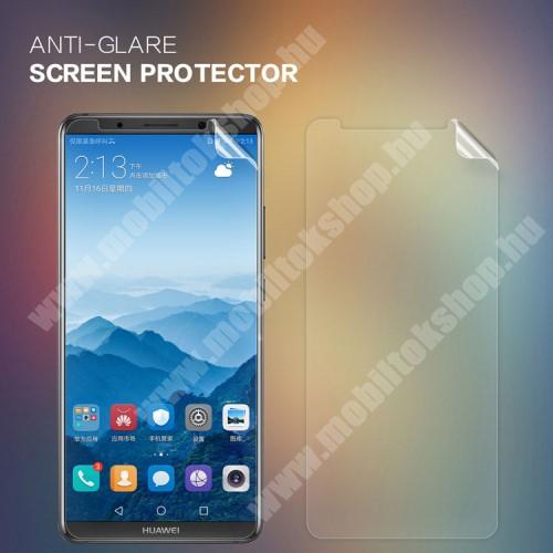 NILLKIN képernyővédő fólia - Anti-Glare - MATT! - 1db, törlőkendővel - HUAWEI Mate 10 Pro - GYÁRI