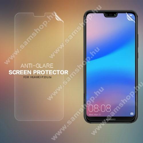 NILLKIN képernyővédő fólia - Anti-glare - MATT! - 1db, törlőkendővel - HUAWEI P20 lite (2018) / HUAWEI Nova 3e - GYÁRI