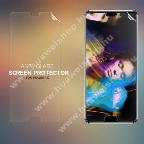 Huawei P20 (2018)NILLKIN képernyővédő fólia - Anti-glare - MATT! - 1db, törlőkendővel - HUAWEI P20 (2018) - GYÁRI