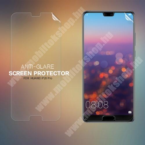 NILLKIN képernyővédő fólia - Anti-glare - MATT! - 1db, törlőkendővel - HUAWEI P20 Pro (2018) - GYÁRI