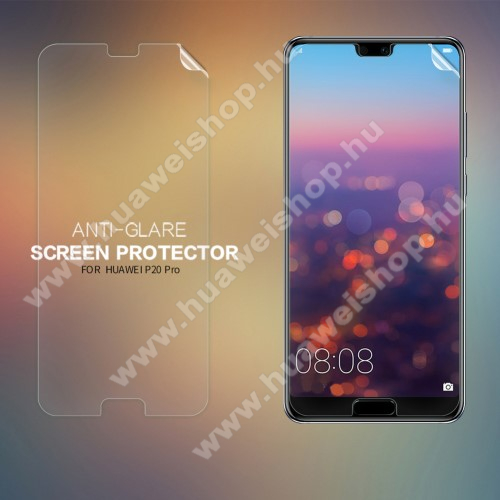 Huawei P20 Pro (2018)NILLKIN képernyővédő fólia - Anti-glare - MATT! - 1db, törlőkendővel - HUAWEI P20 Pro (2018) - GYÁRI