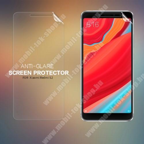 NILLKIN képernyővédő fólia - Anti-Glare - MATT! - 1db, törlőkendővel - Xiaomi Redmi S2 / Xiaomi Redmi Y2 - GYÁRI