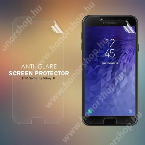 NILLKIN képernyővédő fólia - Anti Glare, MATT! - 1db, törlőkendővel - SAMSUNG SM-J400F Galaxy J4 (2018) - GYÁRI