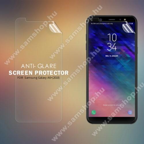 SAMSUNG SM-A605G Galaxy A6 Plus (2018)NILLKIN képernyővédő fólia - Anti Glare, MATT! - 1db, törlőkendővel - SAMSUNG SM-A605G Galaxy A6 Plus (2018) - GYÁRI