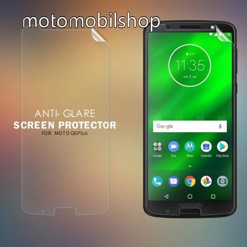 MOTOROLA Moto G6 Plus (2018) NILLKIN képernyővédő fólia - Anti-glare - MATT! - 1db, törlőkendővel - MOTOROLA Moto G6 Plus (2018) - GYÁRI