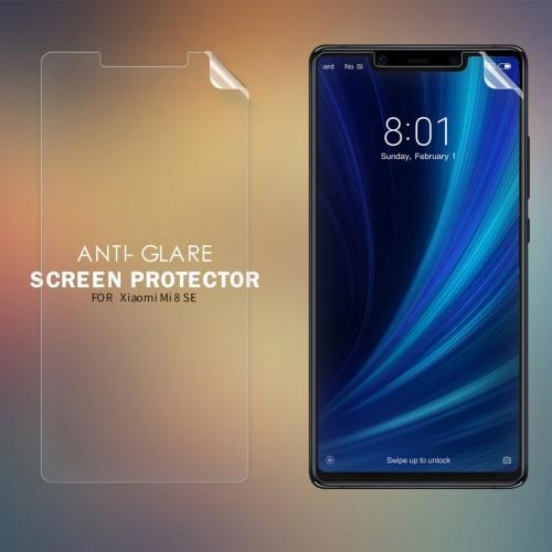 NILLKIN képernyővédő fólia - Anti-glare - MATT! - 1db, törlőkendővel - Xiaomi Mi 8 SE - GYÁRI