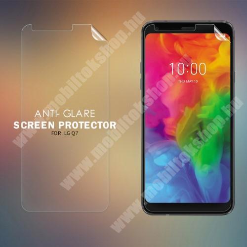 LG Q7 NILLKIN képernyővédő fólia - Anti-glare - MATT! - 1db, törlőkendővel - LG Q7 - GYÁRI