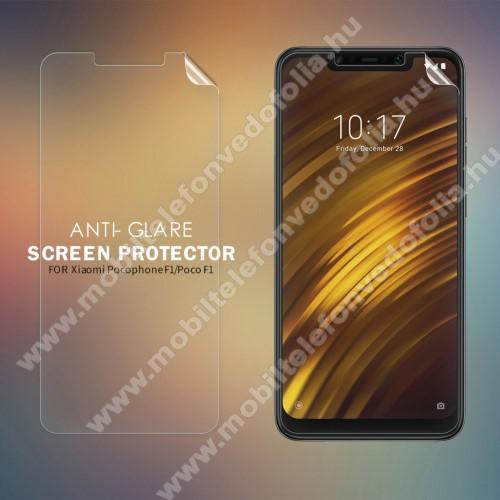NILLKIN képernyővédő fólia - Anti-Glare - MATT! - 1db, törlőkendővel - Xiaomi Pocophone F1 - GYÁRI