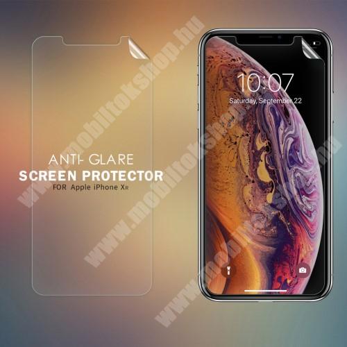 APPLE iPhone Xr NILLKIN képernyővédő fólia - Anti-Glare - MATT! - 1db, törlőkendővel - APPLE iPhone Xr - GYÁRI