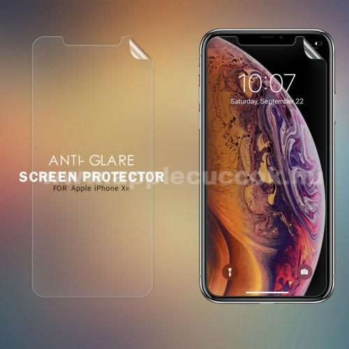 NILLKIN képernyővédő fólia - Anti-Glare - MATT! - 1db, törlőkendővel - APPLE iPhone 11 / APPLE iPhone Xr - GYÁRI