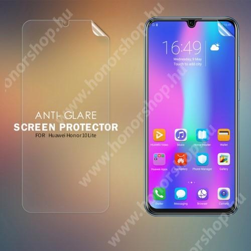 HUAWEI Honor 10 LiteNILLKIN képernyővédő fólia - Anti-Glare - MATT! - 1db, törlőkendővel - HUAWEI P smart (2020) / P Smart (2019) / HUAWEI Honor 10 Lite - GYÁRI
