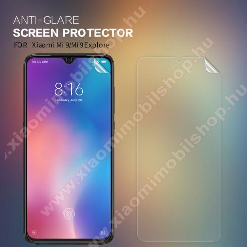 NILLKIN képernyővédő fólia - Anti-Glare - MATT! - 1db, törlőkendővel - Xiaomi Mi 9 / Xiaomi Mi 9 Explorer - GYÁRI