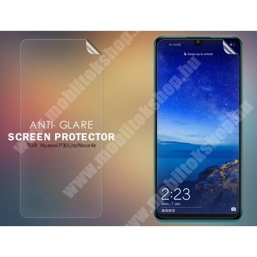 NILLKIN képernyővédő fólia - Anti-Glare - MATT! - 1db, törlőkendővel - HUAWEI P30 Lite / HUAWEI nova 4e - GYÁRI