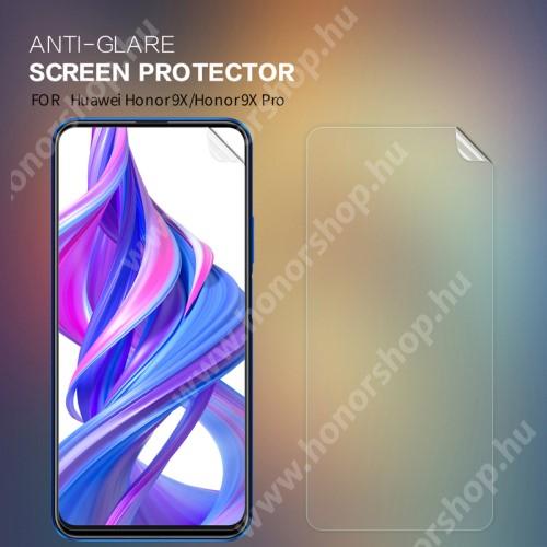 HUAWEI Honor 9X (For China market)NILLKIN képernyővédő fólia - Anti-glare - MATT! - 1db, törlőkendővel - HUAWEI P smart Pro (2019) / HUAWEI P Smart Z / HUAWEI Y9s / Honor 9X (Global) / Honor 9X (China) / Honor 9X Pro (China) - GYÁRI