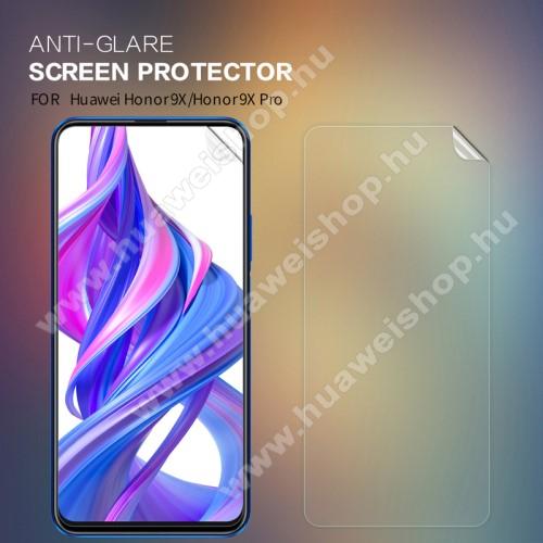 NILLKIN képernyővédő fólia - Anti-glare - MATT! - 1db, törlőkendővel - HUAWEI Honor 9X / HUAWEI Honor 9X Pro - GYÁRI