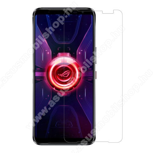 NILLKIN képernyővédő fólia - Anti-Glare - MATT! - 1db, törlőkendővel, A képernyő sík részét védi! - ASUS ROG Phone 3 (ZS661KS) / ASUS ROG Phone 3 Strix - GYÁRI