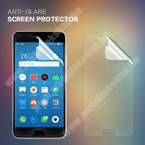 NILLKIN képernyővédő fólia - Anti-Glare - MATT! - 1db, törlőkendővel - Meizu m5 - GYÁRI