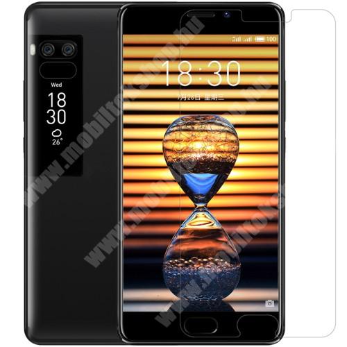 NILLKIN képernyővédő fólia - Anti-glare - MATT! - 1db, törlőkendővel - Meizu Pro 7