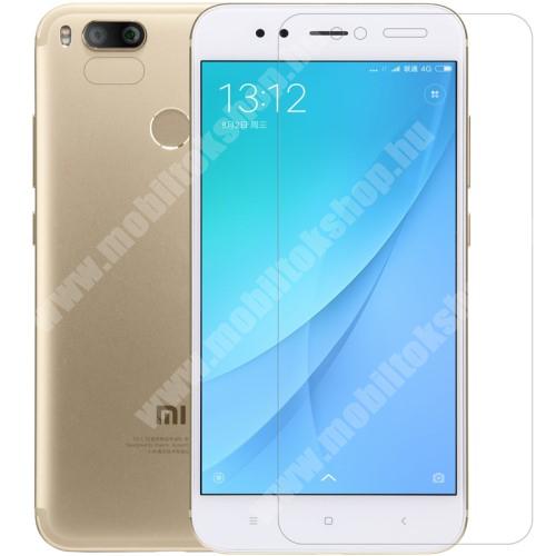 Xiaomi Mi A1 NILLKIN képernyővédő fólia - Anti-glare - MATT! - 1db, törlőkendővel - XIAOMI Mi 5X / Xiaomi Mi A1 - GYÁRI