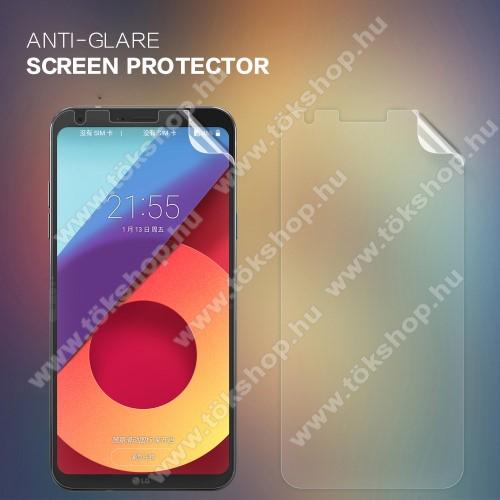 NILLKIN képernyővédő fólia - Anti Glare, MATT - 1db, törlőkendővel - LG Q6 / LG Q6 Plus - GYÁRI
