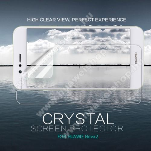 HUAWEI nova 2NILLKIN képernyővédő fólia - Clear - 1db, törlőkendővel - Huawei Nova 2 - GYÁRI