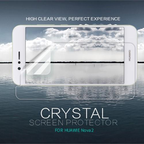NILLKIN képernyővédő fólia - Clear - 1db, törlőkendővel - Huawei Nova 2 - GYÁRI