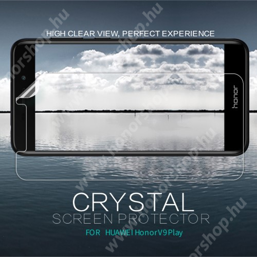 HUAWEI Honor V9 Play NILLKIN képernyővédő fólia - Crystal Clear - 1db, törlőkendővel - HUAWEI Honor V9 Play - GYÁRI