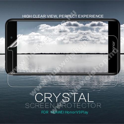 NILLKIN képernyővédő fólia - Crystal Clear - 1db, törlőkendővel - HUAWEI Honor V9 Play - GYÁRI