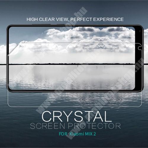 NILLKIN képernyővédő fólia - Crystal Clear - 1db, törlőkendővel - Xiaomi Mi Mix 2 - GYÁRI
