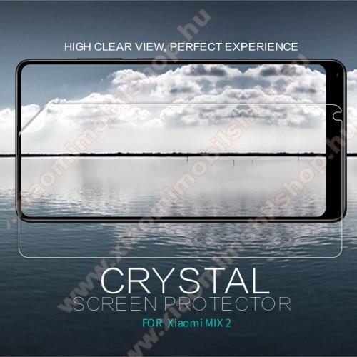 Xiaomi Mi Mix 2NILLKIN képernyővédő fólia - Crystal Clear - 1db, törlőkendővel - Xiaomi Mi Mix 2 - GYÁRI