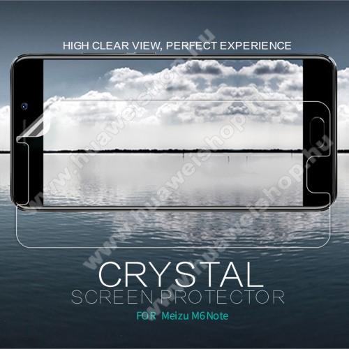 NILLKIN képernyővédő fólia - Crystal Clear - 1db, törlőkendővel - Meizu M6 Note - GYÁRI