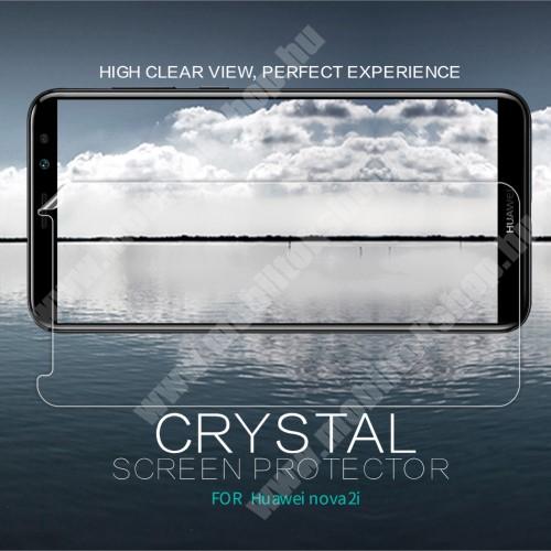 NILLKIN képernyővédő fólia - Crystal Clear - 1db, törlőkendővel - HUAWEI Mate 10 Lite / HUAWEI nova 2i / HUAWEI Honor 9i / HUAWEI Maimang 6  - GYÁRI