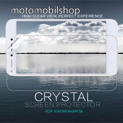 NILLKIN képernyővédő fólia - Crystal Clear - 1db, törlőkendővel - Xiaomi Redmi 5A - GYÁRI