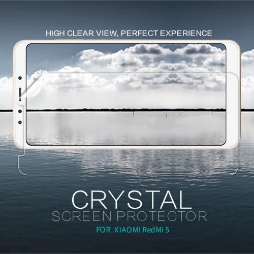 NILLKIN képernyővédő fólia - Crystal Clear - 1db, törlőkendővel - XIAOMI Redmi 5 - GYÁRI