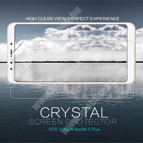 Xiaomi Redmi Note 5 NILLKIN képernyővédő fólia - Crystal Clear - 1db, törlőkendővel - XIAOMI Redmi Note 5 / XIAOMI Redmi 5 Plus - GYÁRI