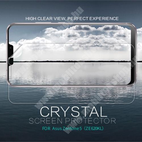 Asus Zenfone 5 (ZE620KL) (2018) NILLKIN képernyővédő fólia - Crystal Clear - 1db, törlőkendővel - ASUS Zenfone 5 (ZE620KL) (2018) - GYÁRI