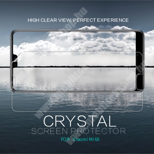 NILLKIN képernyővédő fólia - Crystal Clear - 1db, törlőkendővel - Xiaomi Mi 6X / Xiaomi Mi A2 - GYÁRI