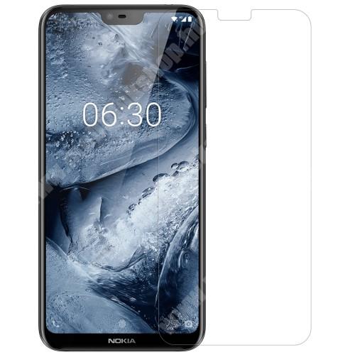 NOKIA 6.1 Plus NILLKIN képernyővédő fólia - Crystal Clear - 1db, törlőkendővel - NOKIA X6 (2018) / NOKIA 6.1 Plus - GYÁRI