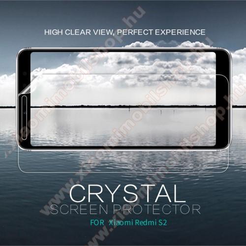 Xiaomi Redmi S2NILLKIN képernyővédő fólia - Crystal Clear - 1db, törlőkendővel - Xiaomi Redmi S2 / Xiaomi Redmi Y2 - GYÁRI