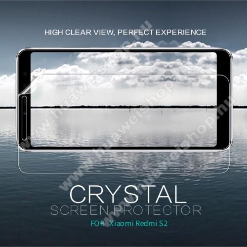 HUAWEI Y7 Prime (2019)NILLKIN képernyővédő fólia - Crystal Clear - 1db, törlőkendővel - Xiaomi Redmi S2 / Xiaomi Redmi Y2 - GYÁRI