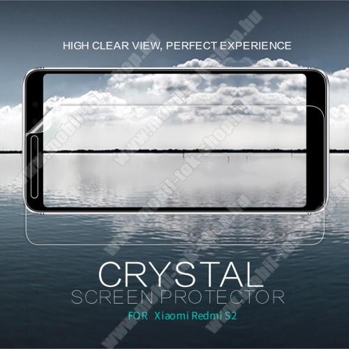 NILLKIN képernyővédő fólia - Crystal Clear - 1db, törlőkendővel - Xiaomi Redmi S2 / Xiaomi Redmi Y2 - GYÁRI